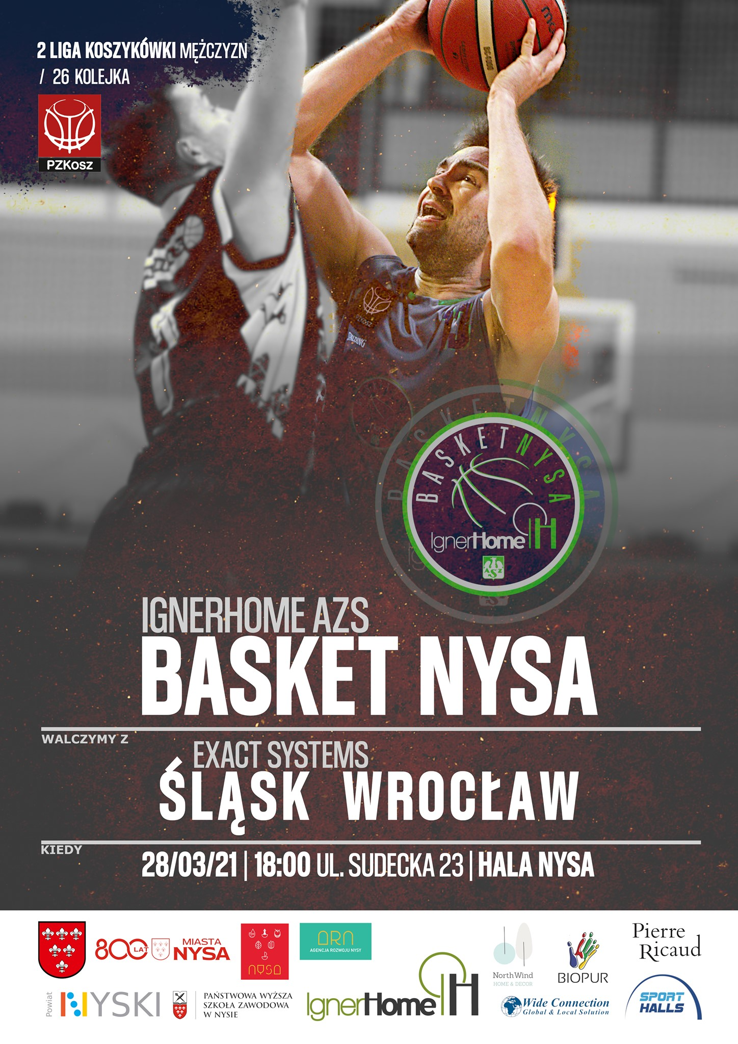 IgnerHome AZS Basket Nysa - Exact Systems Śląsk Wrocław